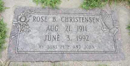 CHRISTENSEN, ROSE B. - Nance County, Nebraska   ROSE B. CHRISTENSEN - Nebraska Gravestone Photos