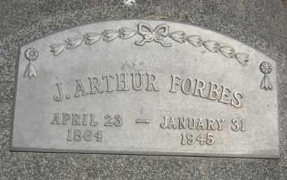 FORBES, JAMES ARTHUR - Nance County, Nebraska   JAMES ARTHUR FORBES - Nebraska Gravestone Photos