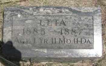 FORBES, LETA - Nance County, Nebraska   LETA FORBES - Nebraska Gravestone Photos