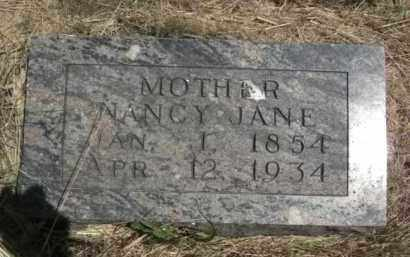 AYRES FORBES, NANCY JANE - Nance County, Nebraska | NANCY JANE AYRES FORBES - Nebraska Gravestone Photos