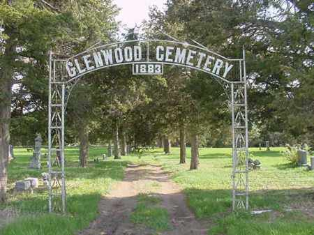 GLENWOOD, CEMETERY ENTRANCE - Nance County, Nebraska   CEMETERY ENTRANCE GLENWOOD - Nebraska Gravestone Photos