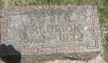 GRUBER, FREDRICK - Nance County, Nebraska   FREDRICK GRUBER - Nebraska Gravestone Photos