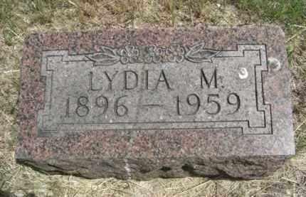GRUBER, LYDIA M. - Nance County, Nebraska   LYDIA M. GRUBER - Nebraska Gravestone Photos