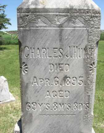 HUNT, CHARLES J. - Nance County, Nebraska | CHARLES J. HUNT - Nebraska Gravestone Photos