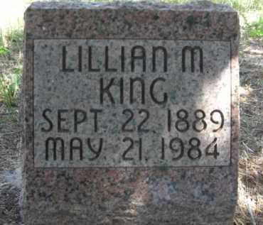 KING, LILLIAN M. - Nance County, Nebraska | LILLIAN M. KING - Nebraska Gravestone Photos