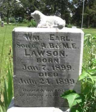 LAWSON, WILLIAM EARL - Nance County, Nebraska   WILLIAM EARL LAWSON - Nebraska Gravestone Photos