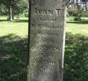 MEDBERY, IVAN T. - Nance County, Nebraska | IVAN T. MEDBERY - Nebraska Gravestone Photos