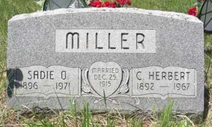 MILLER, SADIE O. - Nance County, Nebraska | SADIE O. MILLER - Nebraska Gravestone Photos