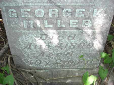 MILLER, GEORGE K. - Nance County, Nebraska | GEORGE K. MILLER - Nebraska Gravestone Photos