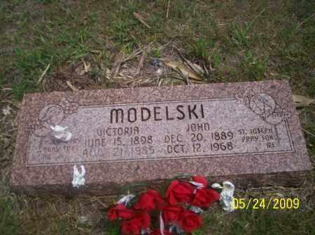 MODELSKI, JOHN - Nance County, Nebraska | JOHN MODELSKI - Nebraska Gravestone Photos
