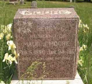MOORE, PERRY C. - Nance County, Nebraska | PERRY C. MOORE - Nebraska Gravestone Photos