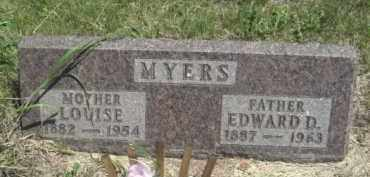 CAWELL MYERS, LOUISE - Nance County, Nebraska | LOUISE CAWELL MYERS - Nebraska Gravestone Photos