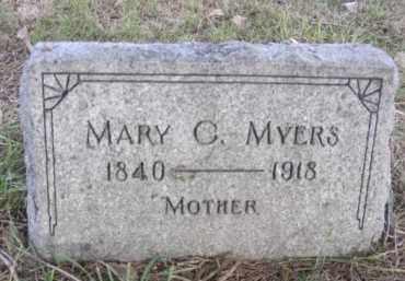 MYERS, MARY C. - Nance County, Nebraska | MARY C. MYERS - Nebraska Gravestone Photos