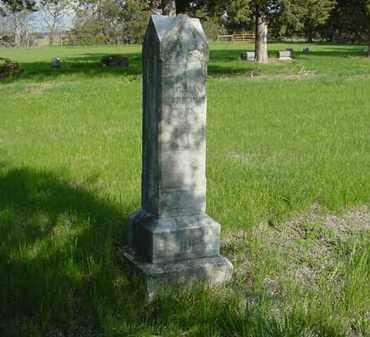 OSBORNE, MARY - Nance County, Nebraska | MARY OSBORNE - Nebraska Gravestone Photos