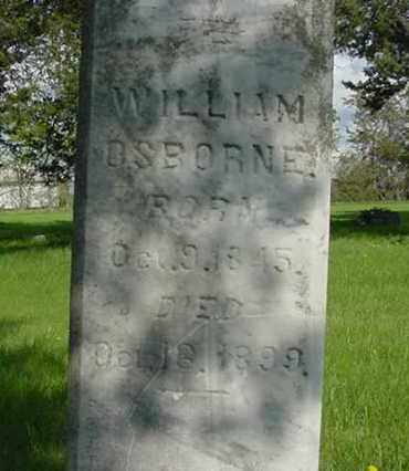 OSBORNE, WILLIAM - Nance County, Nebraska   WILLIAM OSBORNE - Nebraska Gravestone Photos