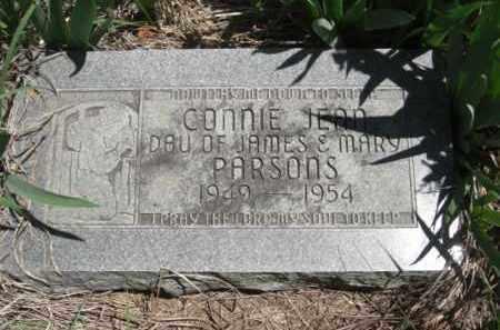 PARSONS, CONNIE JEAN - Nance County, Nebraska | CONNIE JEAN PARSONS - Nebraska Gravestone Photos