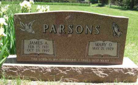 PARSONS, JAMES A. - Nance County, Nebraska | JAMES A. PARSONS - Nebraska Gravestone Photos