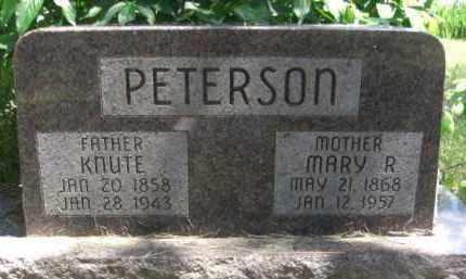 SORENSON PETERSON, MARY R. - Nance County, Nebraska | MARY R. SORENSON PETERSON - Nebraska Gravestone Photos