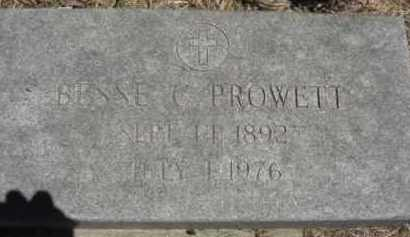 PROWETT, BESSE C. - Nance County, Nebraska   BESSE C. PROWETT - Nebraska Gravestone Photos
