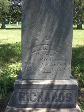 RICHARDS, MARY A. - Nance County, Nebraska | MARY A. RICHARDS - Nebraska Gravestone Photos