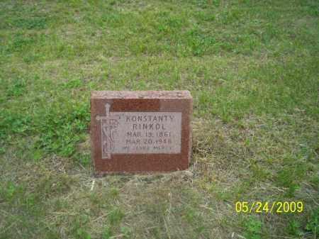 RINKOL, KONSTANTY - Nance County, Nebraska   KONSTANTY RINKOL - Nebraska Gravestone Photos