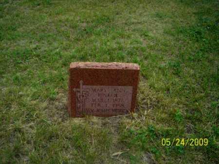 GEMBICA RINKOL, MARY ANN - Nance County, Nebraska | MARY ANN GEMBICA RINKOL - Nebraska Gravestone Photos