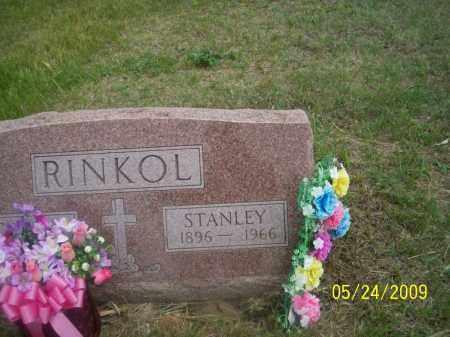 RINKOL, STANLEY - Nance County, Nebraska | STANLEY RINKOL - Nebraska Gravestone Photos
