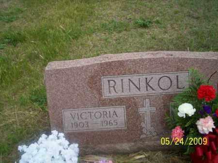 CZARNICK RINKOL, VICTORIA - Nance County, Nebraska | VICTORIA CZARNICK RINKOL - Nebraska Gravestone Photos