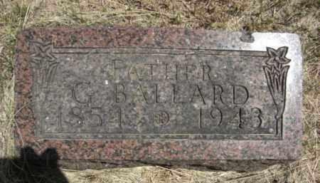 SEARS, G. BALLARD - Nance County, Nebraska   G. BALLARD SEARS - Nebraska Gravestone Photos