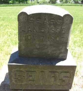 SEARS, MAUDE E. - Nance County, Nebraska   MAUDE E. SEARS - Nebraska Gravestone Photos