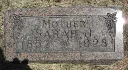 SEARS, SARAH J. - Nance County, Nebraska | SARAH J. SEARS - Nebraska Gravestone Photos