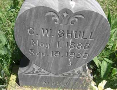 SHULL, C.W. - Nance County, Nebraska | C.W. SHULL - Nebraska Gravestone Photos