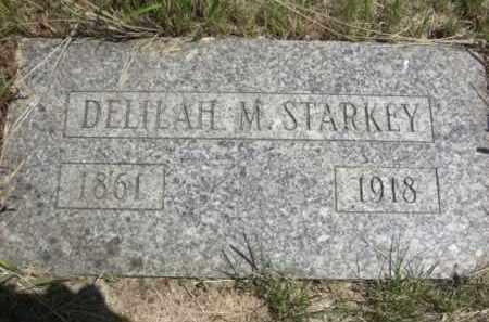 EASON STARKEY, DELILAH M. - Nance County, Nebraska | DELILAH M. EASON STARKEY - Nebraska Gravestone Photos