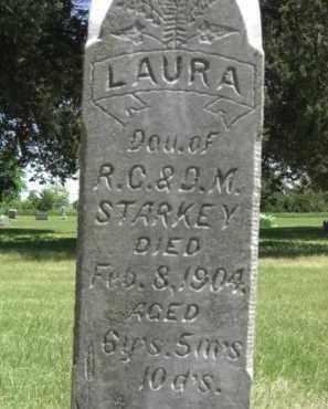 STARKEY, LAURA - Nance County, Nebraska | LAURA STARKEY - Nebraska Gravestone Photos