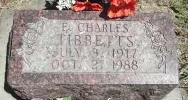 TIBBETTS, E. CHARLES - Nance County, Nebraska | E. CHARLES TIBBETTS - Nebraska Gravestone Photos