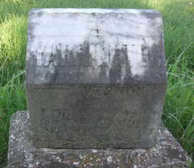 YARRINGTON, VERNON - Nance County, Nebraska | VERNON YARRINGTON - Nebraska Gravestone Photos