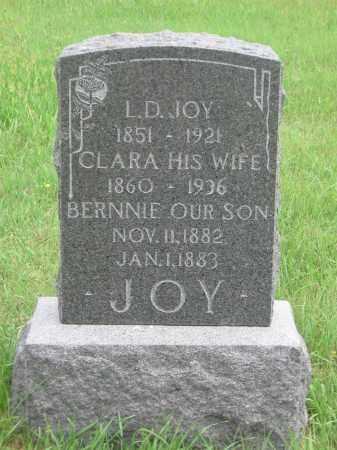 TEMPLIN JOY, CLARA - Nuckolls County, Nebraska   CLARA TEMPLIN JOY - Nebraska Gravestone Photos