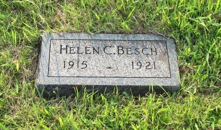 BESCH BESCH, HELEN CAROLINE - Otoe County, Nebraska | HELEN CAROLINE BESCH BESCH - Nebraska Gravestone Photos