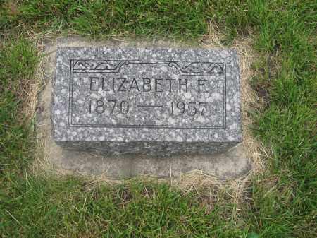DAMME, ELIZABETH - Otoe County, Nebraska   ELIZABETH DAMME - Nebraska Gravestone Photos