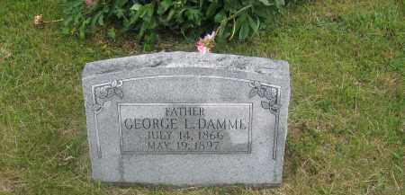 DAMME, GEORGE - Otoe County, Nebraska | GEORGE DAMME - Nebraska Gravestone Photos