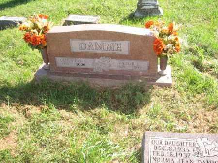 DAMME, VICTOR L. - Otoe County, Nebraska | VICTOR L. DAMME - Nebraska Gravestone Photos