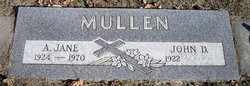 THOMAS MULLEN, ALICE JANE - Otoe County, Nebraska | ALICE JANE THOMAS MULLEN - Nebraska Gravestone Photos