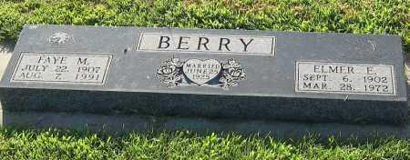 SCHRODER BERRY, FAYE - Phelps County, Nebraska | FAYE SCHRODER BERRY - Nebraska Gravestone Photos