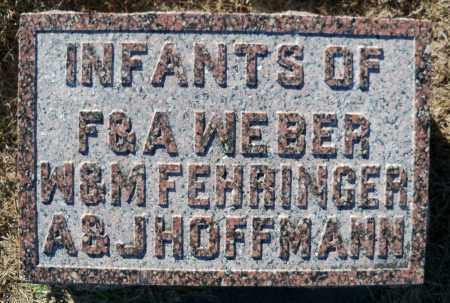 WEBER, INFANT - Pierce County, Nebraska | INFANT WEBER - Nebraska Gravestone Photos