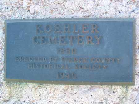 *KOEHLER CEMETERY, (OVERVIEW) - Pierce County, Nebraska | (OVERVIEW) *KOEHLER CEMETERY - Nebraska Gravestone Photos