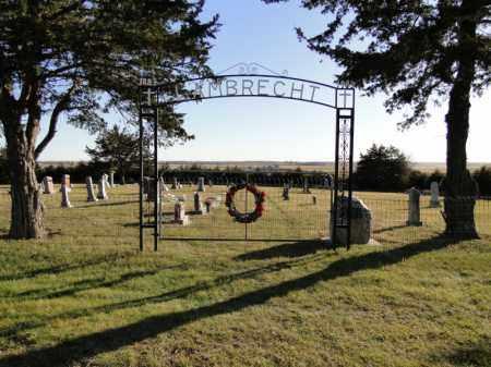 *LAMBRECHT CEMETERY, OVERVIEW - Pierce County, Nebraska | OVERVIEW *LAMBRECHT CEMETERY - Nebraska Gravestone Photos