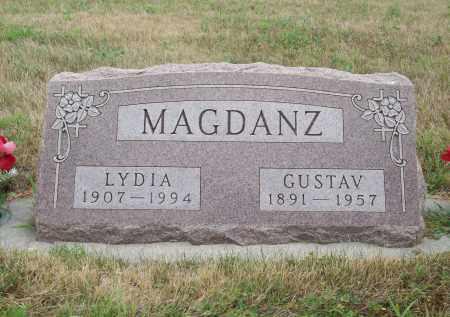 MAGDANZ, GUSTAV - Pierce County, Nebraska | GUSTAV MAGDANZ - Nebraska Gravestone Photos