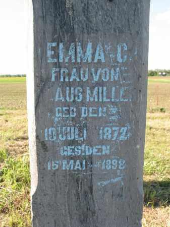 MILLER, EMMA C. - Pierce County, Nebraska   EMMA C. MILLER - Nebraska Gravestone Photos