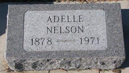 NELSON, ADELLE - Pierce County, Nebraska | ADELLE NELSON - Nebraska Gravestone Photos