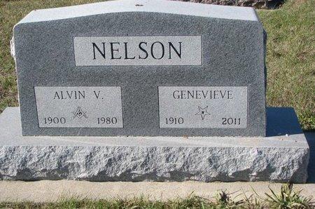 HOKE NELSON, GENEVIEVE - Pierce County, Nebraska | GENEVIEVE HOKE NELSON - Nebraska Gravestone Photos